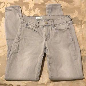 Gap gray legging jean